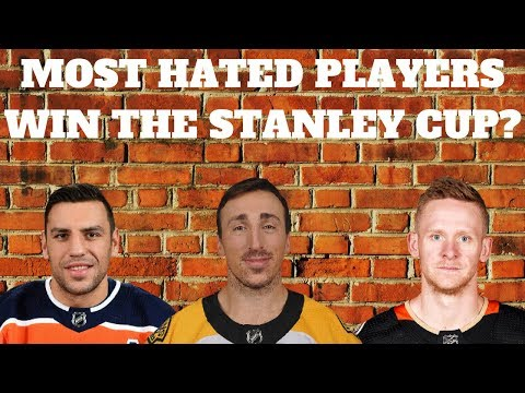 CAN THE MOST HATED NHL PLAYERS WIN THE STANLEY CUP? | NHL 18 | ARCADE REGIMENT