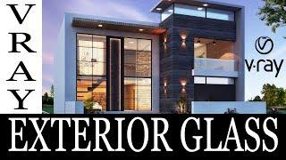 Vray Exterior Glass 3ds Max Tutorial In Hindi By Atul Rankawat   Career Hacks