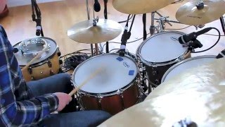 Oceans Where Feet May Fail Hillsong UNITED Drum Cover