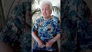 Piuccia, la nonnina della poesie e delle preghiere