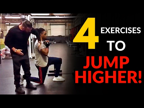 4 Exercises To Jump Higher, Get More Explosive and Dunk A Basketball!