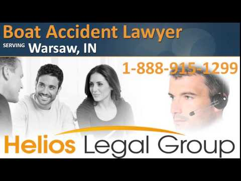 Warsaw Boat Accident Lawyer & Attorney - Indiana