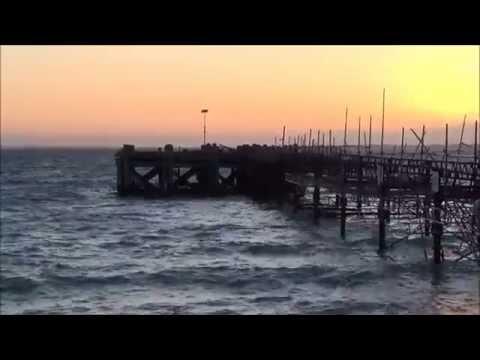 Totland Bay. Isle Of Wight. Fishing. 31/5/2015 UK Shore Fishing