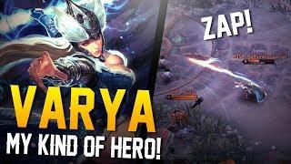 Vainglory Gameplay - Episode 334: MY KIND OF HERO!! Varya [CP] Lane Gameplay [Update 2.11]
