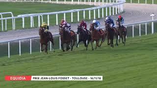 Vidéo de la course PMU PRIX JEAN-LOUIS FOSSET