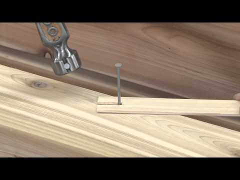Two Tricks for Hammering a Nail Without Marring the Wood