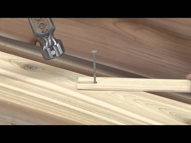 hammer nails in hardwood two tricks for hammering a nail without marring the wood