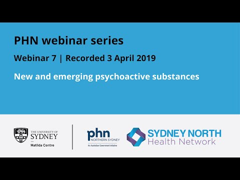 New And Emerging Psychoactive Substances