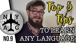 HOW TO LEARN ANY LANGUAGE (TOP 5 TIPS FROM AN ENGLISH TEACHER) - NYAG #9