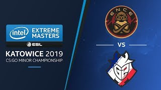 CS:GO - ENCE vs. G2 [Overpass] Swiss R2 - Challengers Stage - IEM Katowice 2019