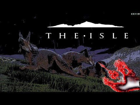 The Isle - Triceratops in Mega Herd (Fight for Survival)