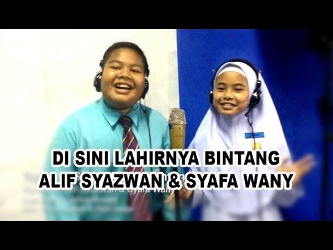 Syafa Wany & Alif Syazwan - Di Sini Lahirnya Bintang (Lagu Baru) #WazuOri