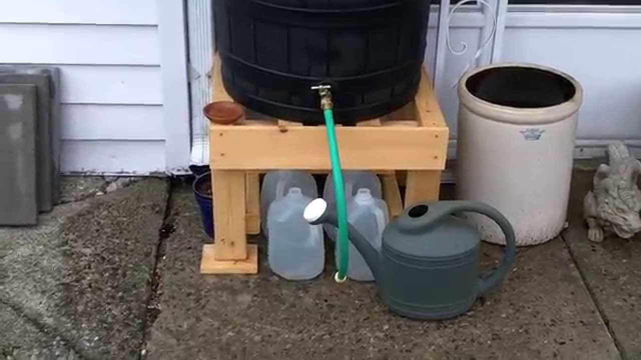 good ideas 50 gallon rain wizard barrel and oatey rain diverter system rw50 - Rain Diverter