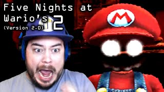 NEW GAME MODE?! CLASSIC MODE COMPLETE!! | Five Nights at Wario's 2 (Version 2.0)