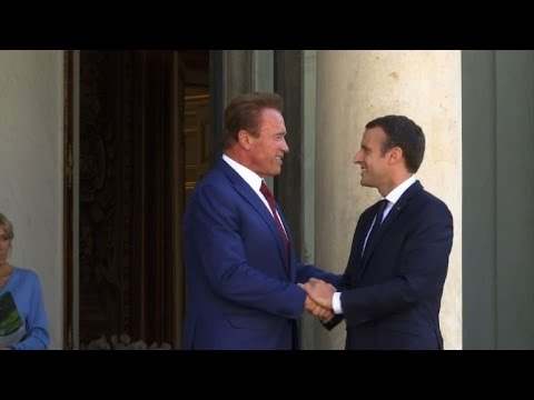 'We all breathe the same air': Schwarzenegger on climate change