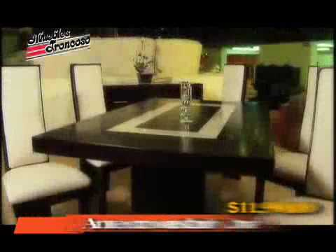 Muebles troncoso sala perla y ant doria youtube for Muebles troncoso salas