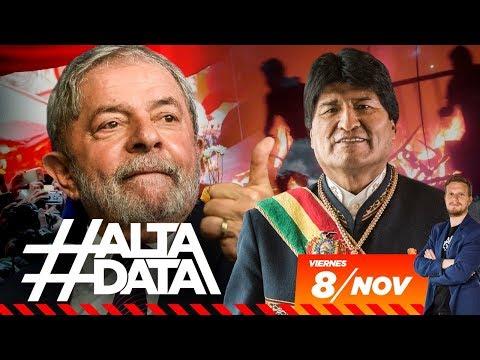 Lula libre y Golpe en Bolivia | #AltaData #LulaLivre , todo lo que pasa en un toque