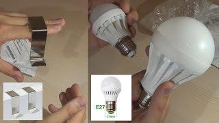 LED лампы Е27 и крючок на дверь (AliExpress)(Заказывал лампы здесь: http://goo.gl/2gCO2h крючок здесь: http://goo.gl/ViKGp9 Для комнаты мало 15 ВТ. по крайне мере одной....., 2015-10-08T14:22:14.000Z)