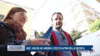 AIRC: ANCHE AD ANDRIA I CIOCCOLATINI DELLA RICERCA