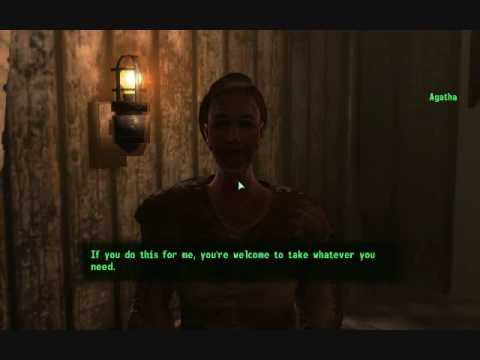 Fallout 3 Agathas Song Walkthrough