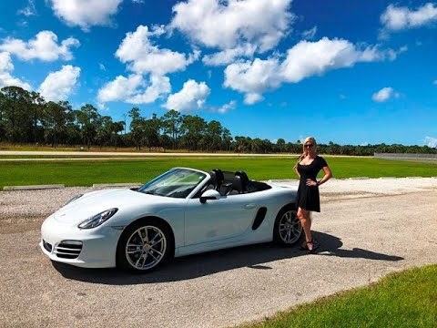 2014 Porsche Boxster! Review/Test Drive w/MaryAnn For Sale by: AutoHaus of Naples