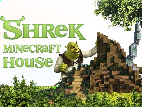 how to build shrek in minecraft
