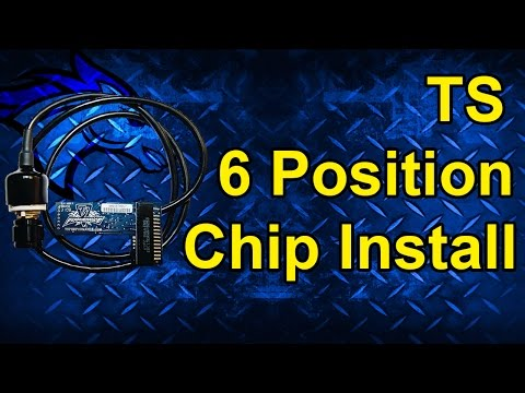 TS 6 Position Chip Install: 1999-2003 Ford Powerstroke 7.3L   Install Different for 95-97
