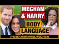 Meghan and Harry Oprah Interview Body Language Analysis