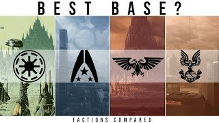 Which Sci-Fi Faction has the BEST DEFENDED HOMEWORLD? | Sci-Fi Factions Compared