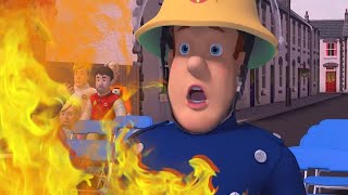 Fireman Sam US 🌟Sam's Biggest Fires Compilation 🔥 Fire Rescue  🔥 Kids Movie