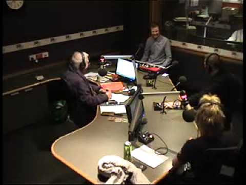 Joss Russell performs, on 3AW Nightline, with Philip Brady and Brian Mannix  Wed 120815