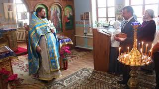 Настоятель храма в селе Кучурган благодарит меценатов