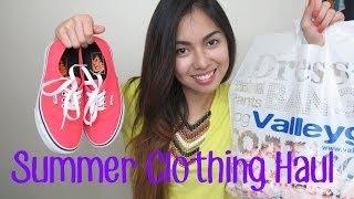 Summer Clothing Haul Thumbnail
