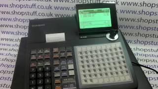 Casio SE-C450 Cash Register / SE-C450 / SEC450 / Casio PCR-T520