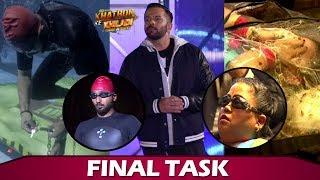 Khatron Ke Khiladi 9: Punit's First Nervous Task Where Bharti Singh BREAKSDOWN | Final Week Task