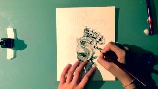 Drawing Slytherin