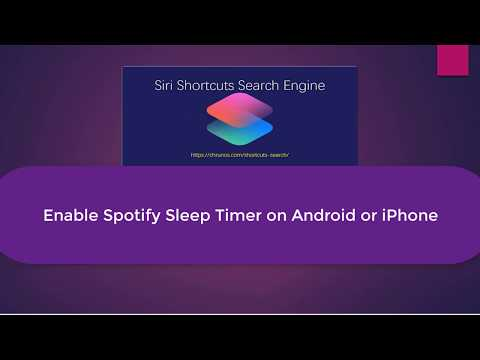 Enable Spotify Sleep Timer On Both IOS And Android