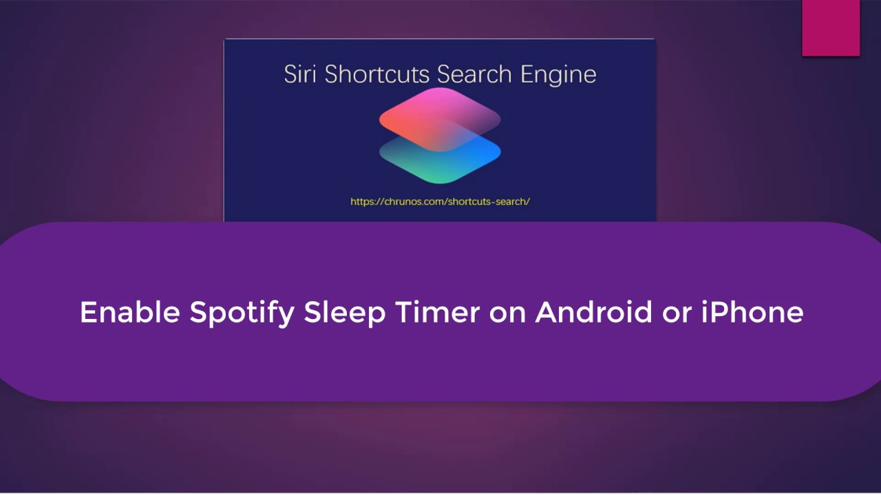 Enable Spotify Sleep Timer on Both iOS and Android - YouTube