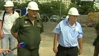 Объезд военного прокурора ВВО А. Рушкина