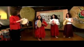 Alessandra Belloni - Southern Italian Tambourine Lesson: Holding the drum