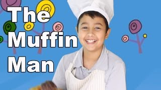 The Muffin Man | Children Song Nursery Rhyme | Lyrics | Patty Shukla