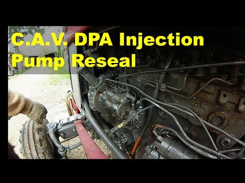 CAV DPA Injection Pump Reseal YouTube