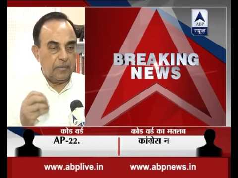 Sonia Gandhi was among bribe-takers in VVIP helicopter deal: Subramanian Swamy