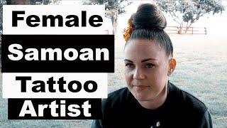 Short Version: Female Samoan Tattoo Artist Tyla Vaeau