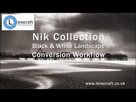 Nik Collection Black & White Landscape Workflow in Full
