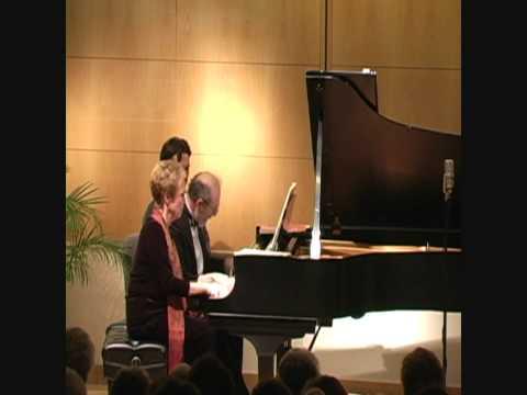 Judith Burganger & Leonid Treer Play Gottschalk: Ojos Criollos, Danse Cubaine, Caprice Brillant