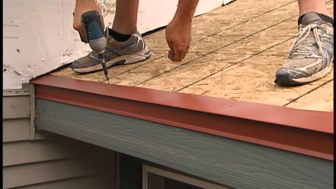 Metal Shake U0026 Slate Roof Installation   Underlayment + Eave Starter 2 Of 6    YouTube