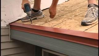 Metal Shake & Slate Roof Installation - Underlayment + Eave Starter 2 of 6