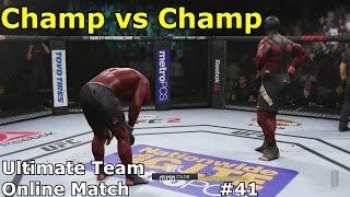 UFC 2 ULTIMATE TEAM - Hardest Championship Fight Ever! (Online Match)