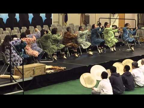 King Island Singers and Dancers Kivgiq Dance Festival Barrow Alaska 2015